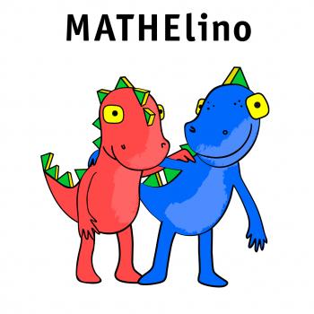 Mathelino- Maskottchen-Design