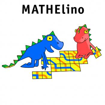Mathelino Maskottchen, Character-Design in verschiedenen Posen