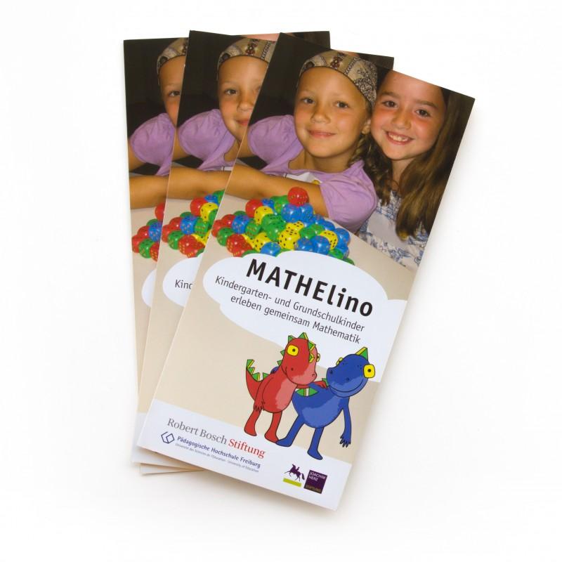 Mathelino-Projektflyer Titelgestaltung