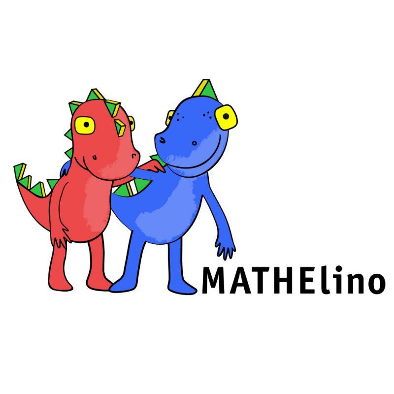 Maskottchen Mathelino, Design Miriam Awe