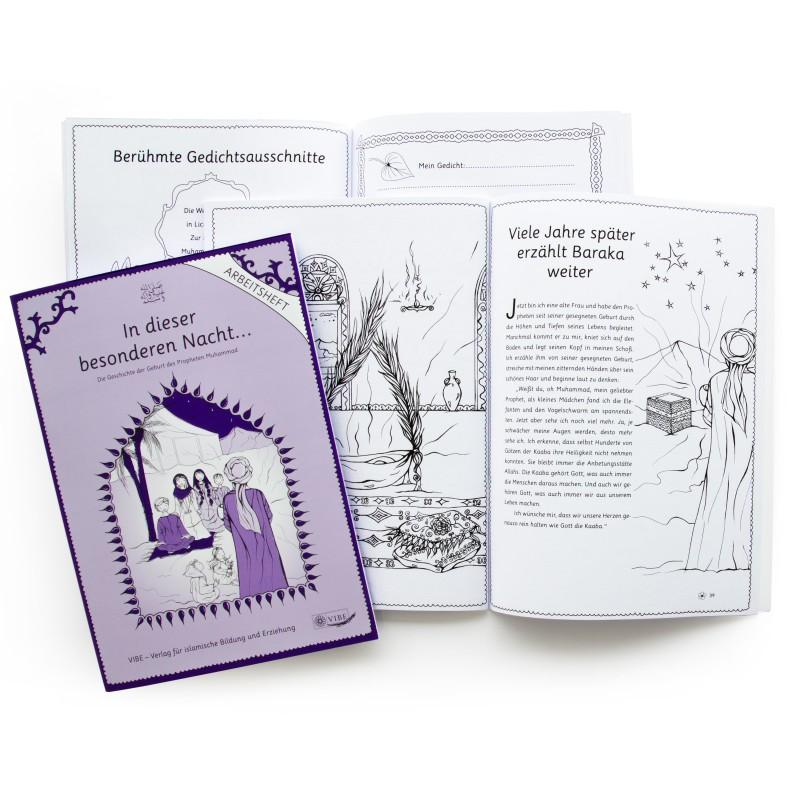 Arbeitsbuch für den Religionsunterricht, Design Miriam Awe