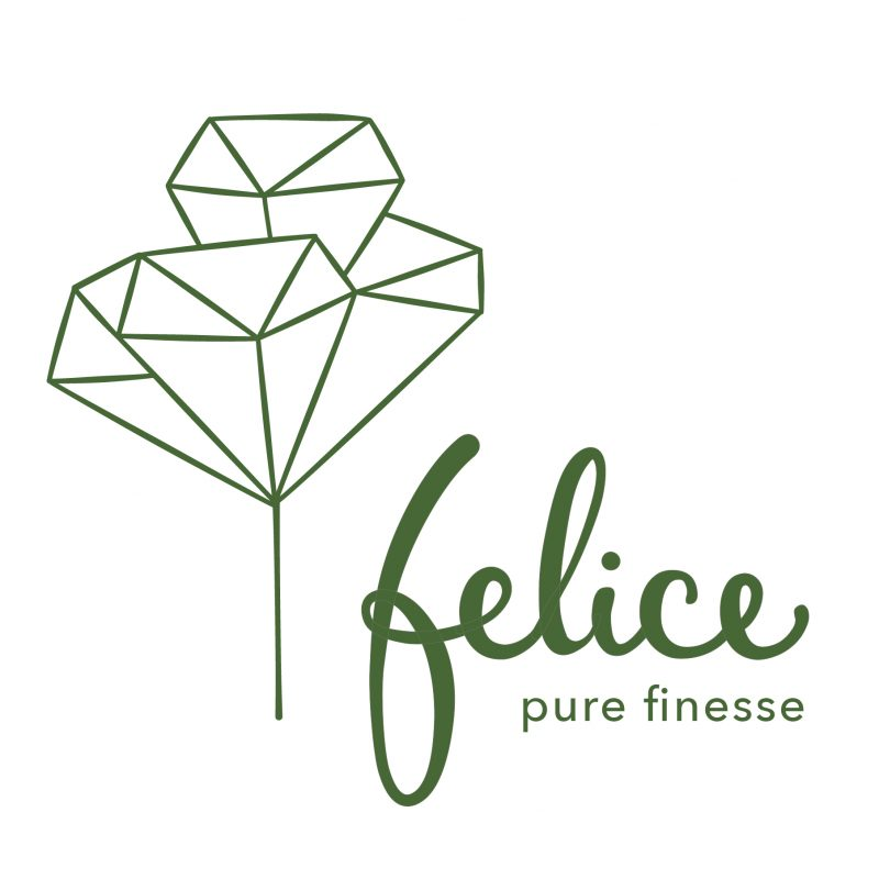 Logo Wort-Bildmarke für Felice Schmuck