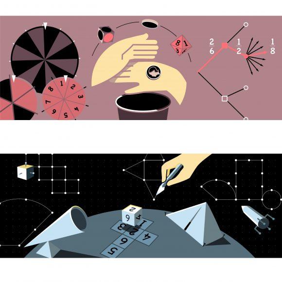 Illustrationsbeispiele für das Portal Mathewerkstatt